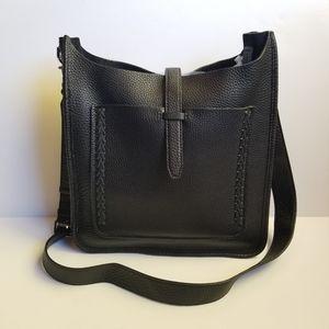Rebecca Minkoff Unlined Large Feed Bag Black NEW